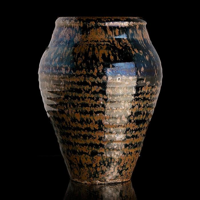 Jizhou tortoiseshell glazed vase, Southern Song