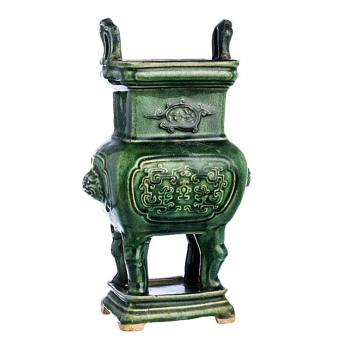 Chinese archaic stoneware censer