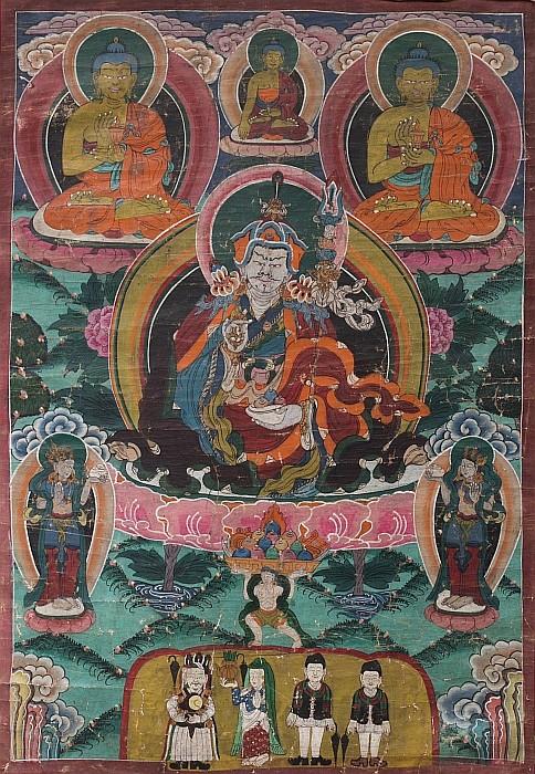 Tibetan Thangka, 19thC
