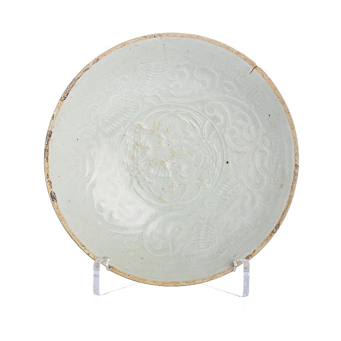 Saucer with a 'phoenix' in Chinese ceramics, Song