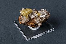 Adamite and Calcite