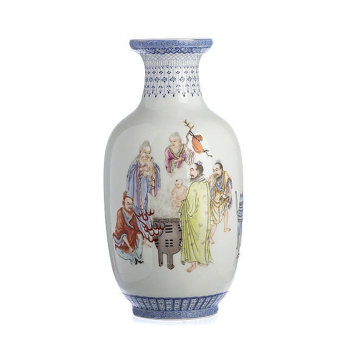 Small vase in Chinese porcelain