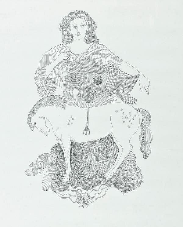 GUSTAVO BASTOS (b.1928) - 'Feminin figure'