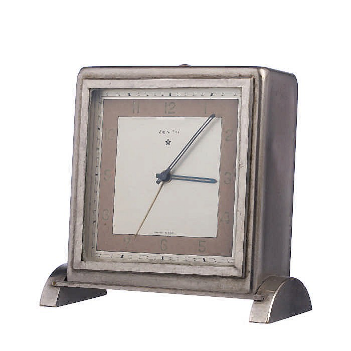 Zenith art deco alarm clock Art deco alarm clocks