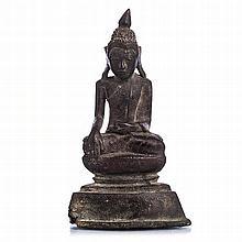 Bronze bodhisattva, Burma