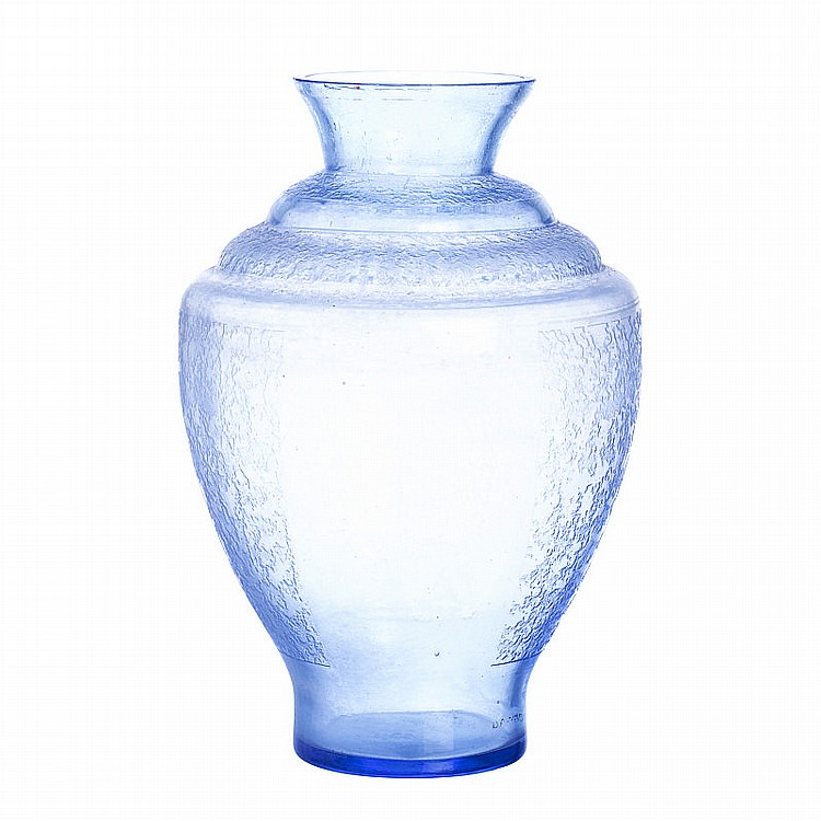 d argyl deco glass vase