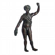 Roman bronze Bacchus
