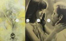 MARIO BISMARCK (b.1959) - Painting - Paradise - 13