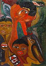 INÁCIO MATSINHE (b.1945) - 'Untitled'
