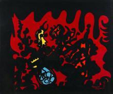 MANUEL CASIMIRO (b.1941) - Tapestry of Portalegre
