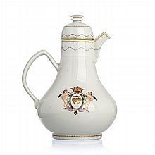 Chinese Porcelain 'Marriage' Milk Jug, Jiaqing