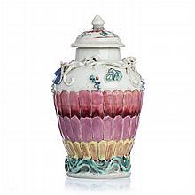 Chinese Porcelain Tea Caddy, Yongzheng