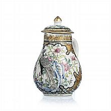 Chinese Porcelain 'Phoenix' Milk Jug, Yongzheng