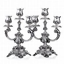 Pair of candlesticks D. João V style