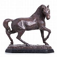 'Horse' in ceramic Belo