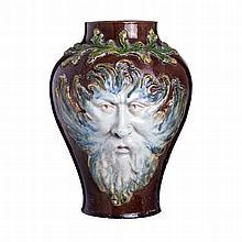 MANUEL GUSTAVO BORDALO PINHEIRO (1867-1920) - Neptune vase