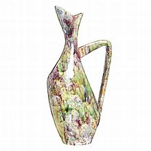MARIA DE LURDES CASTRO (b.1934) - Modernist jug by Sacavém