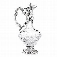Art nouveau style vase with a foot