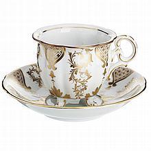 'Four Feet Teacup' by Vista Alegre, collectors club