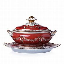 Tureen with stand from Vista Alegre