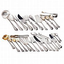 Silver D.João V style cutlery set