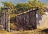 JOSÉ CAVADAS (1881-1964) - 'Village house with a figure', José Cavadas, Click for value