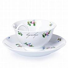 CRUZEIRO SEIXAS (born 1920) - Teacup with a handle inside as all of us
