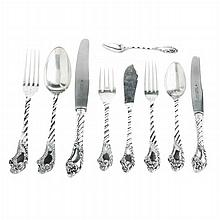 Flatware Service in silver boar