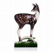 ALELUIA - Deer in faience