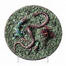'Reptiles' plate by António Alves Cunha