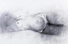 MÁRIO BISMARCK (n.1959) - 'Female nude'