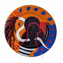 SOBRAL CENTENO (n.1948) - 'Marker plate'