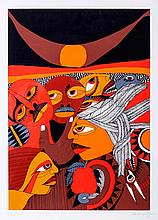 MALANGATANA (1936-2011) - 'Untitled'