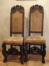 Pair of English chairs