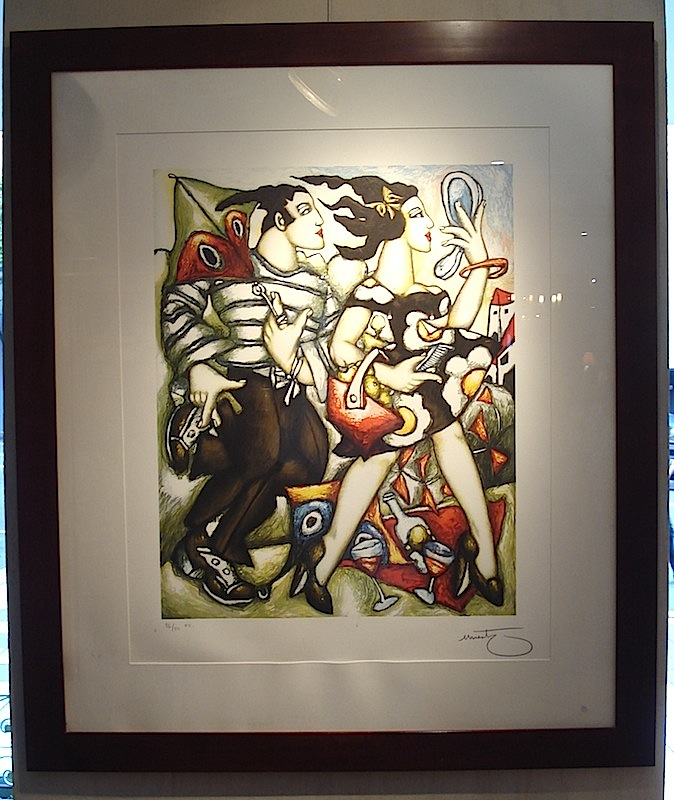 French original lithographic work