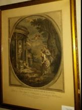 French 18th c engraving