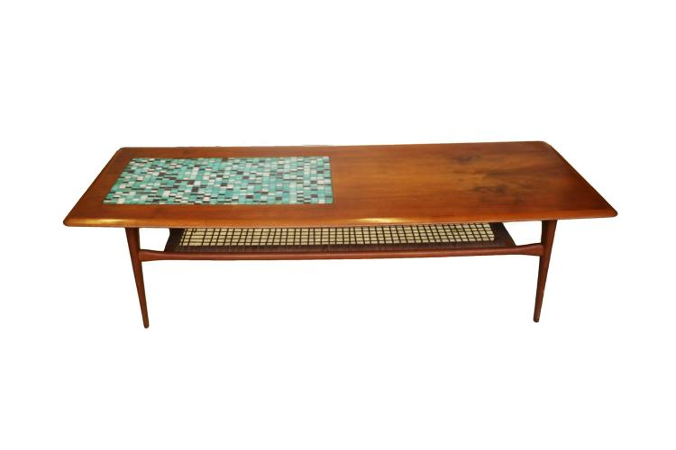 Mid-Century Danish Two Tier Coffee Table