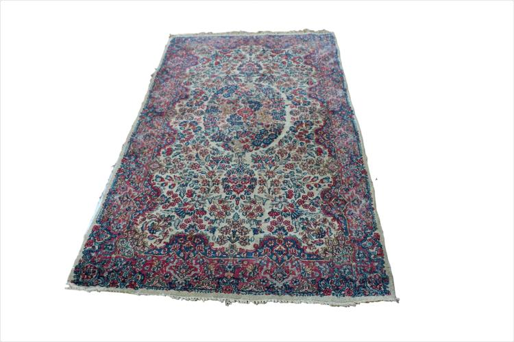 Persian Kirman Rug Iran 20th century