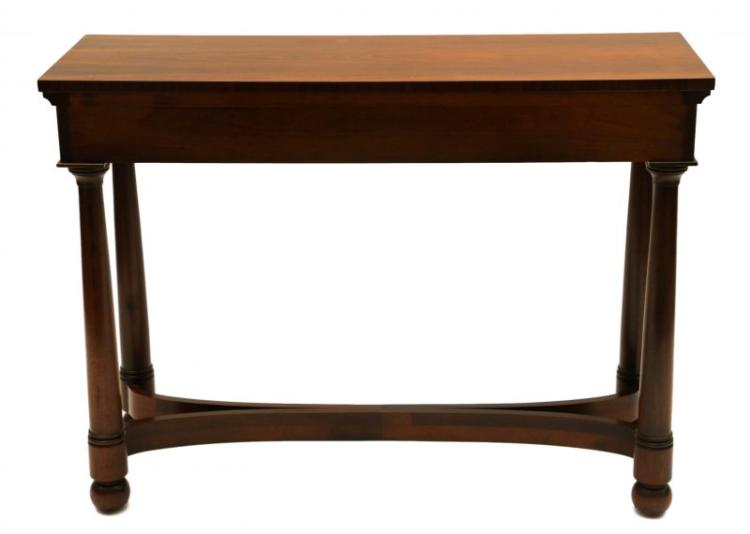 Beautiful Rosewood Console Occasional Table