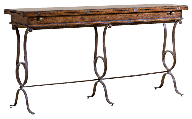 Stanley Furniture Flip Top Console Table