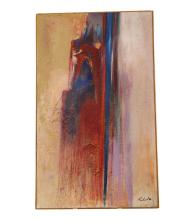 Contemporary Mid Century Abstract Painting