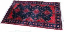 A Hamadan Knotted rug
