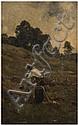 GRIGORESCU NICOLAS (1838-1907) Homme à son établi, Nicolae Grigorescu, Click for value