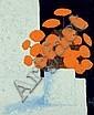 REAULT PATRICK (né en 1955) Fleurs Peinture sur, Patrick Reault, Click for value