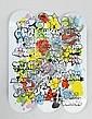 TILT (NÉ EN 1973) Sans titre Graffiti Bubble sur,  TILT, Click for value