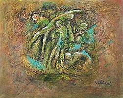 """VILLERI JEAN (1896-1982) """"Le chiffre de la mer"""","""