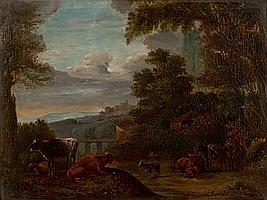EDMOND JOSEPH PRATÈRE (1826-1888) (ÉCOLE BELGE DU