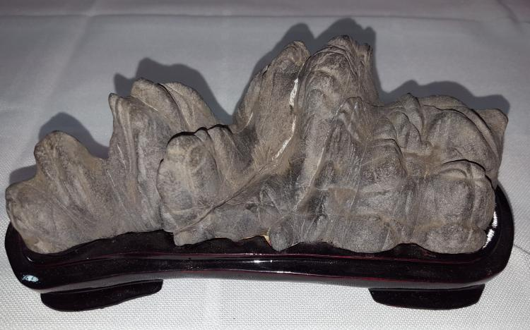 Scholar Rock with stand