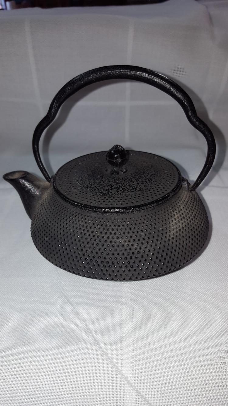 1974 Asian Iron Tea Pot