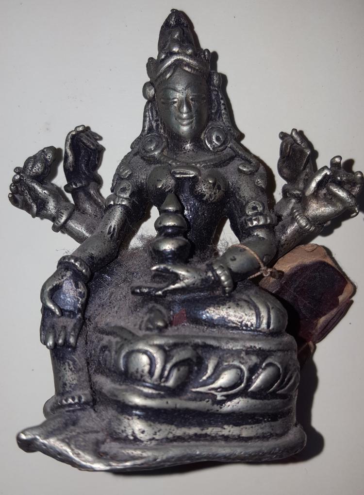 Tibetan Buddha Statue Vasudhara Goddess of Prosperity